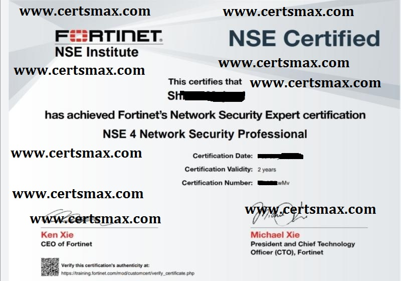 Passing Fortinet Exams
