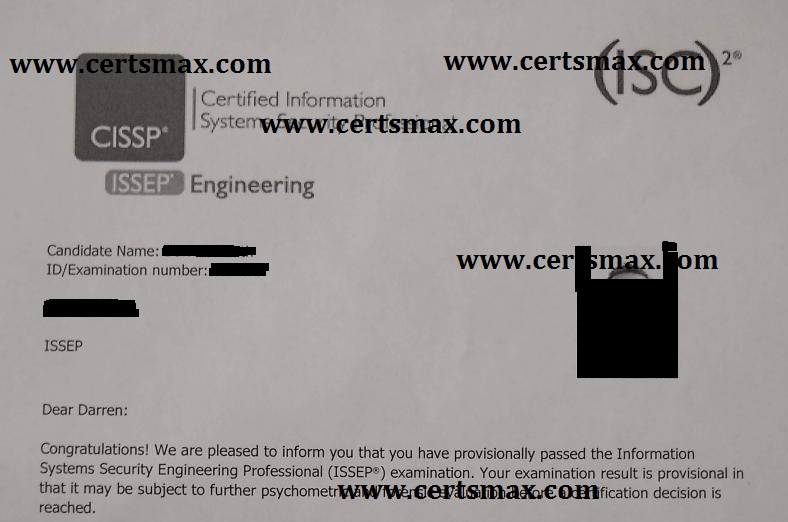 Passing ISC2 Exams