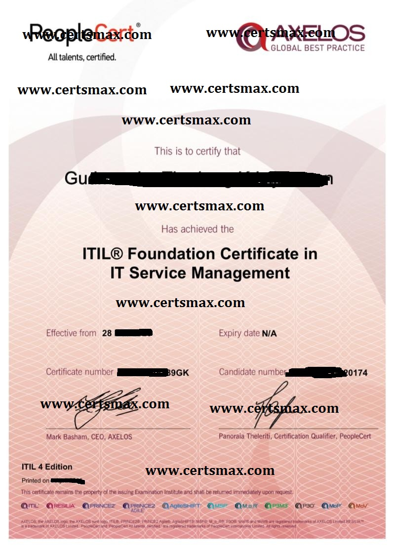 Passing ITIL Exams