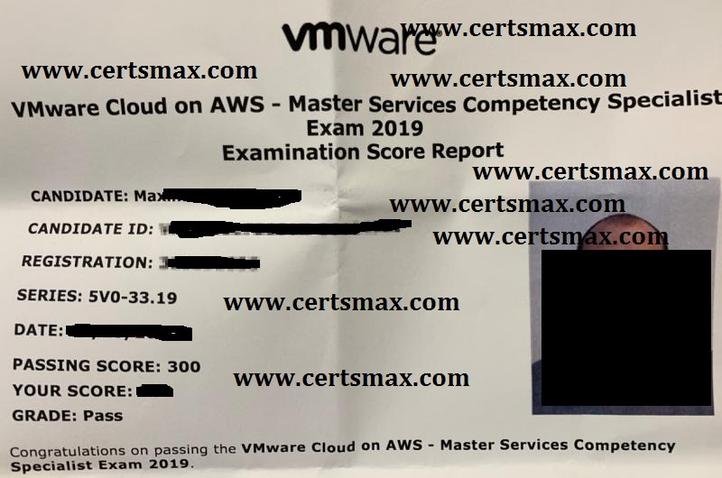 Passing VMware Exams